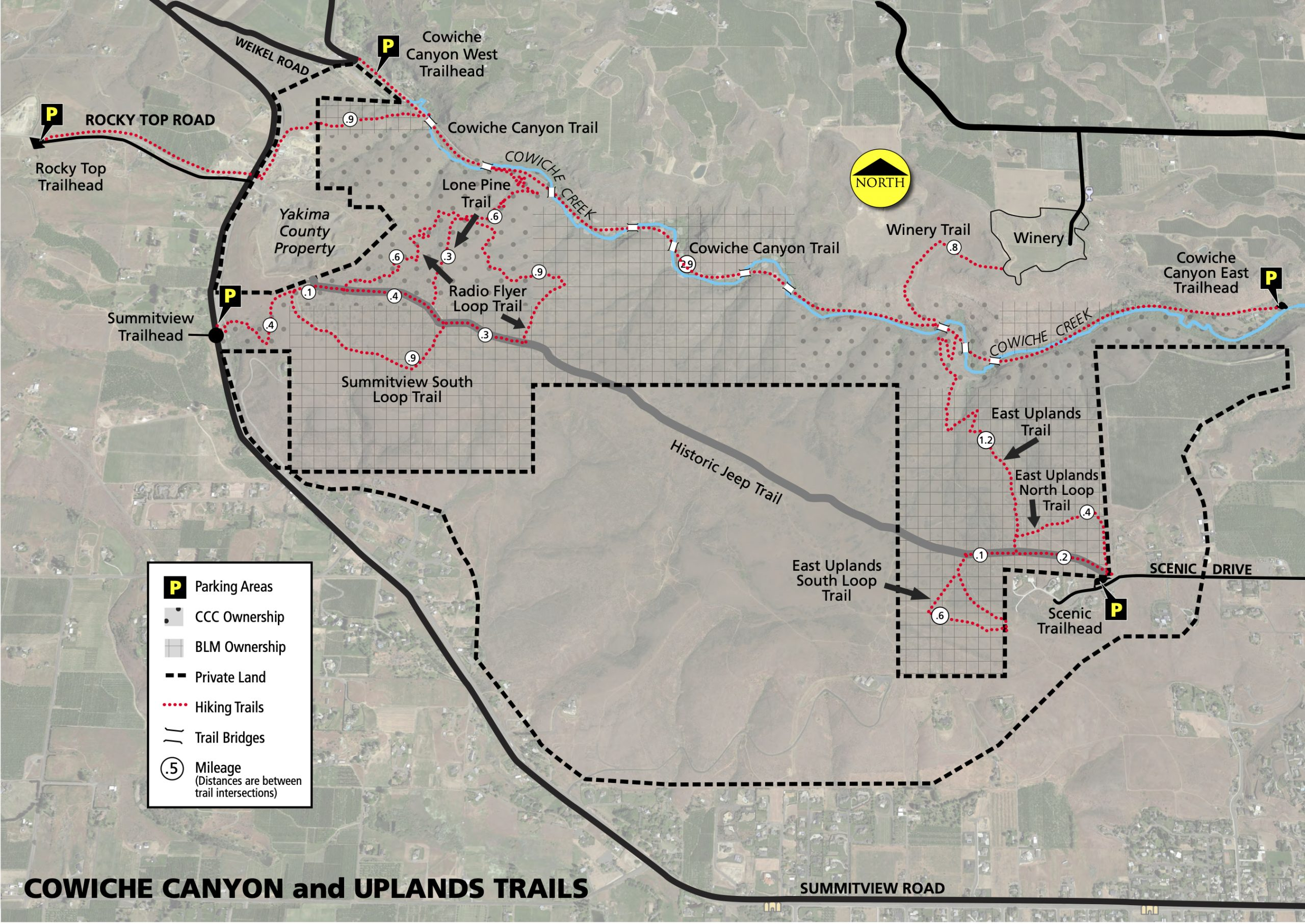 Cowiche Canyon Trail